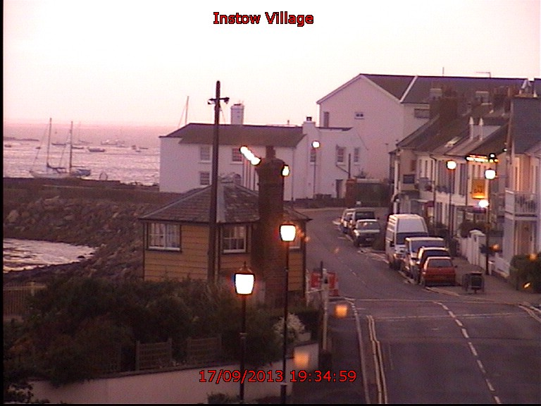 View of Instow Village
